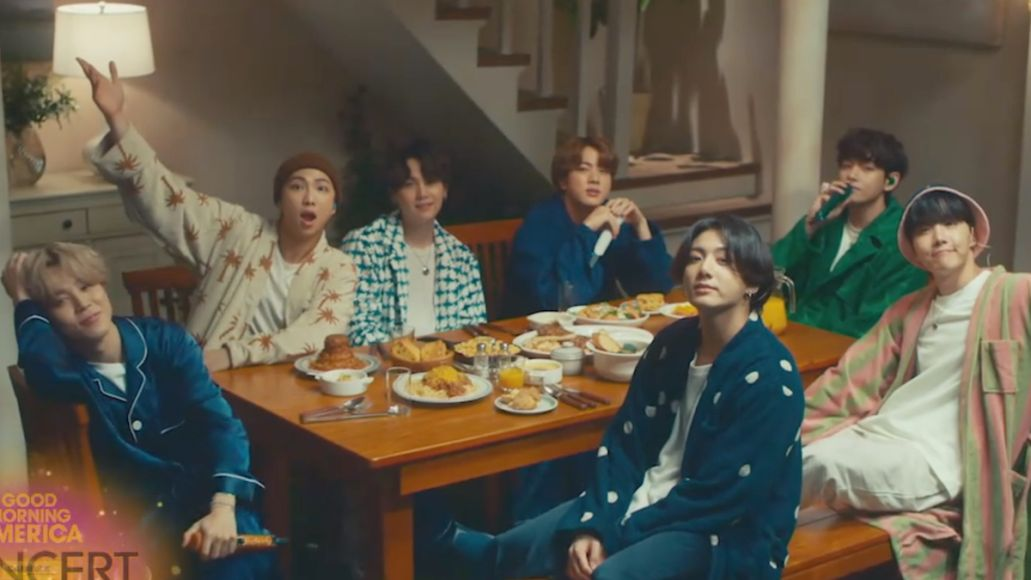 bts life goes on good morning america performance watch