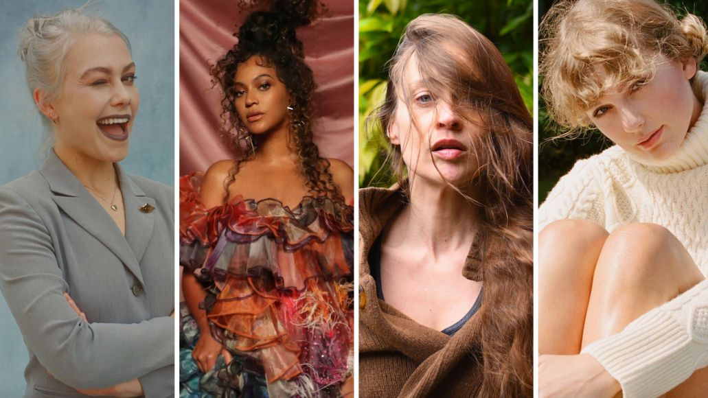 Grammy 2021 nominees: Phoebe Bridgers, Beyoncé, Fiona Apple, and Taylor Swift