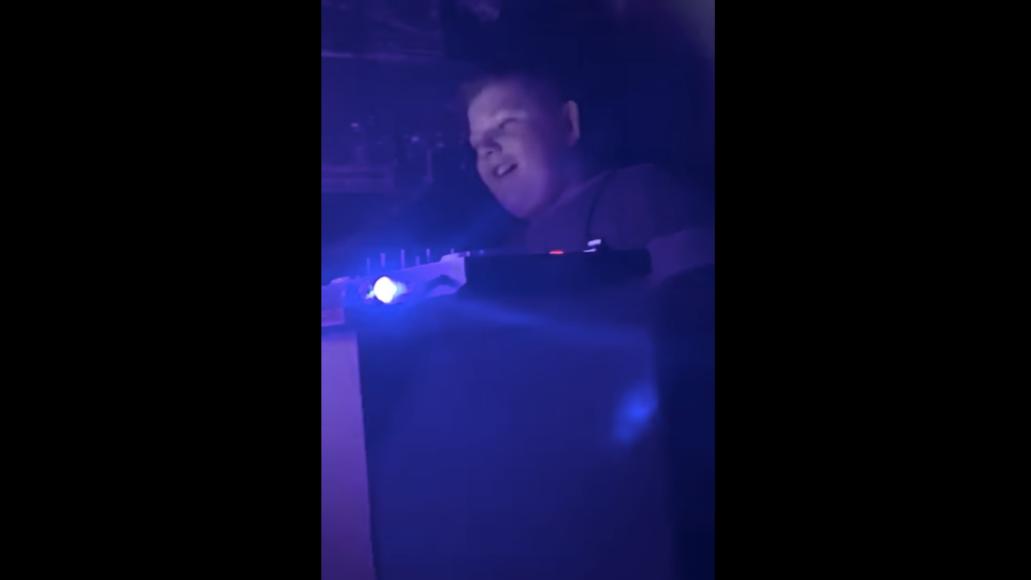 12 year old dj school rave