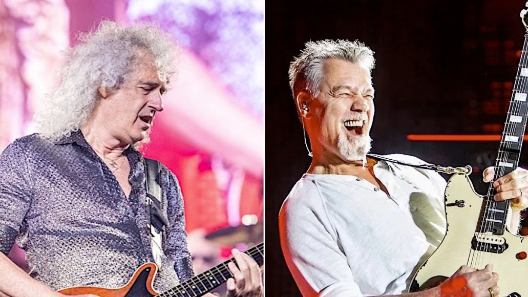 Brian May and Eddie Van Halen