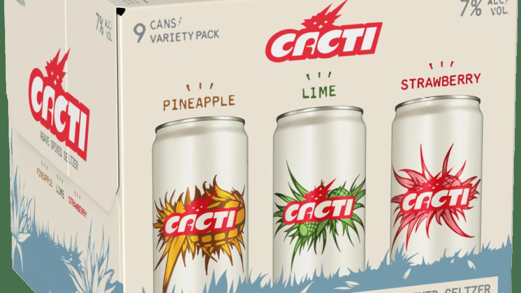 CACTI VARIETY Brand Ambassador and Part Time MC Travis Scott Announces New Hard Seltzer Cacti
