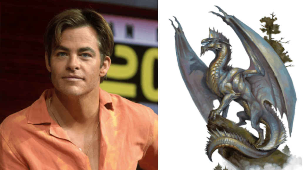 Chris Pine dungeons and dragons movie cast casting