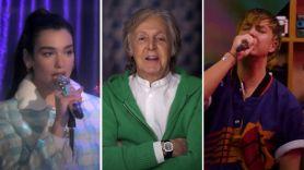 Dua Lipa Paul McCartney Jimmy Fallon The Voidz Julian Casablancas Tonight Show