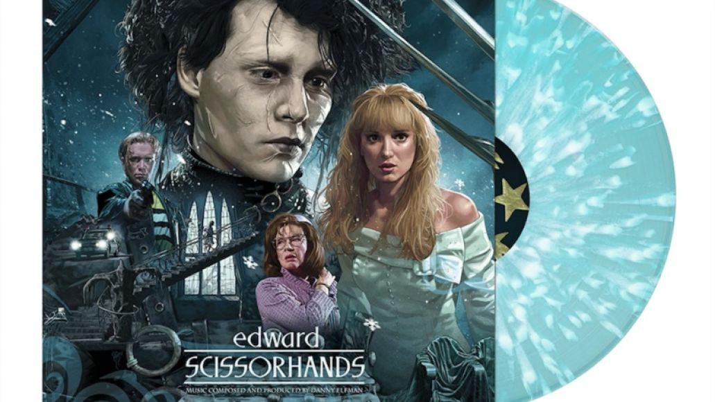 Edward Scissorhands Deluxe Reissue vinyl 30th anniversary
