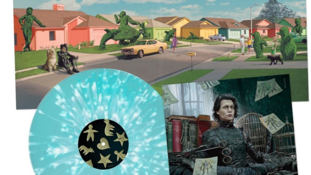 Edward Scissorhands reissue vinyl