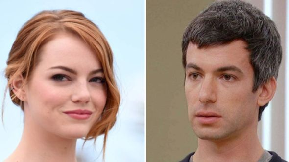 Emma Stone and Nathan Fielder