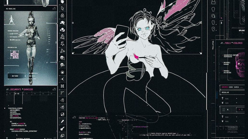 Grimes Miss Anthropocene artwork