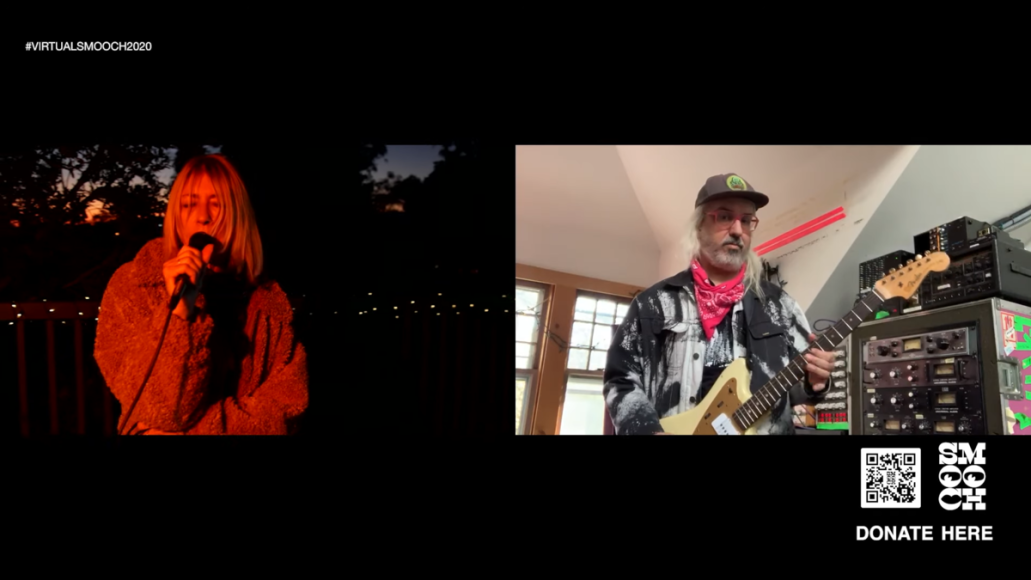 "Kim Gordon, J. Mascis, Fred Armisen Perform New Song ""Abstract Blues"""