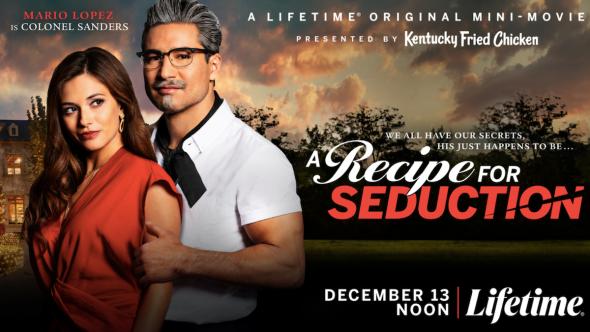 Mario Lopez KFC Recipe for Seduction Lifetime original mini-movie film