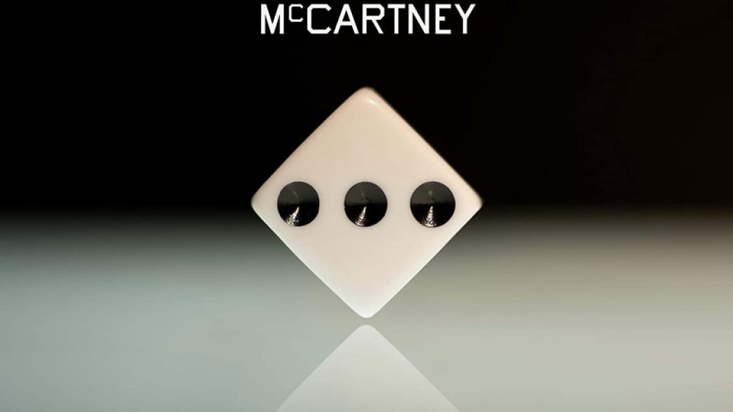 Paul McCartney III solo album 3 album artwork cover art