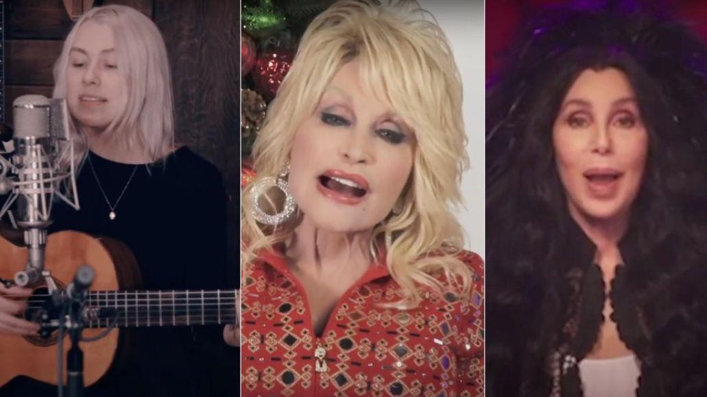 Phoebe Bridgers Dolly Parton and Cher