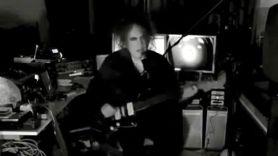 Robert Smith solo livestream Faith live concert songs, photo via YouTube