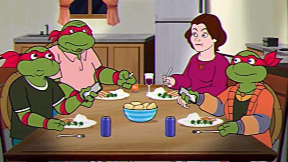 SNL Middle Aged Mutant Ninja Turtles