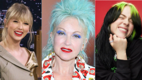 Taylor Swift Cyndi Lauper and Billie Eilish