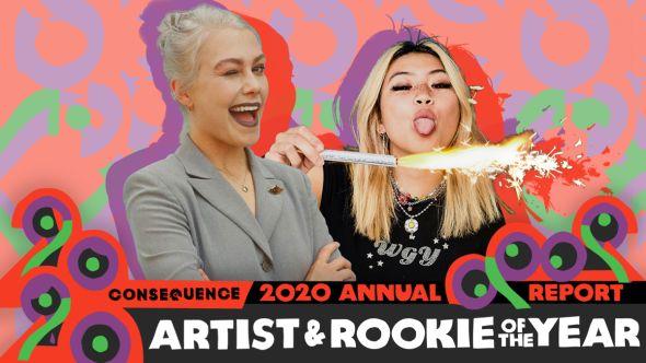 artist rookie of the year annual report phoebe bridgers beabadoobee
