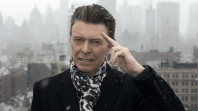 david bowie 74th birthday single john lennon bob dylan Willie Nelson and Karen O Cover Queen and David Bowies Under Pressure: Stream