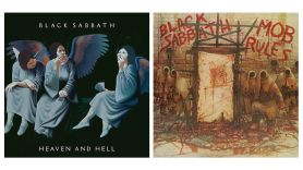Black Sabbath Heaven and Hell and Mob Rules Reissues