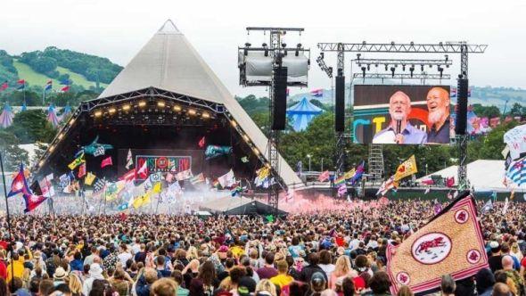 Glastonbury, photo courtesy of festival