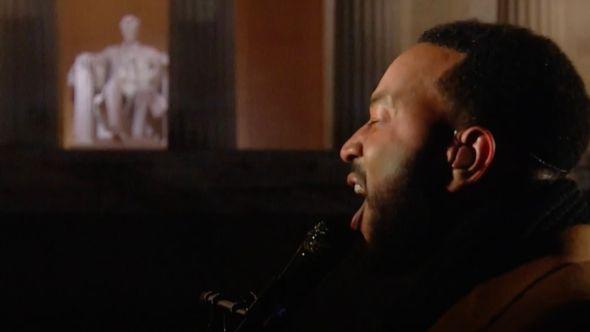John Legend Celebrating America