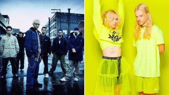 Linkin Park remixed by 100 gecs
