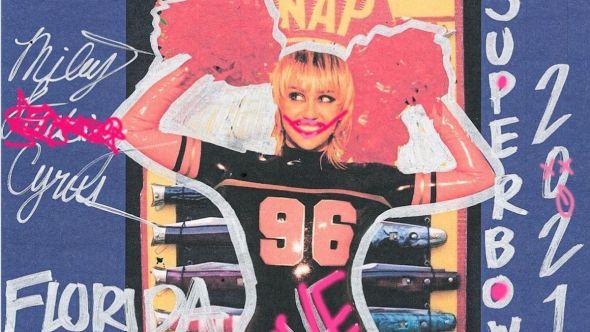 Miley Cyrus Super Bowl TikTok Tailgate performance livestream pre-show concert, photo via Instagram/@MileyCyrus