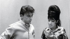Phil Spector with Ronnie Spector