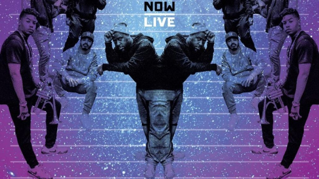 R+R=NOW Live album artwork cover art