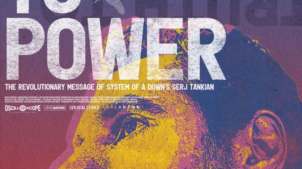 TRUTHTOPOWER Poster Web Trailer Unveiled for Upcoming Serj Tankian Documentary Truth to Power: Watch