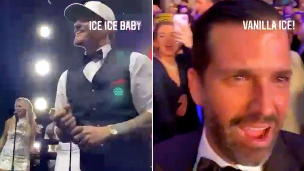 Vanilla Ice Donald Trump Jr