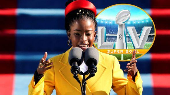 amanda gorman super bowl 2021 lv poet inauguration