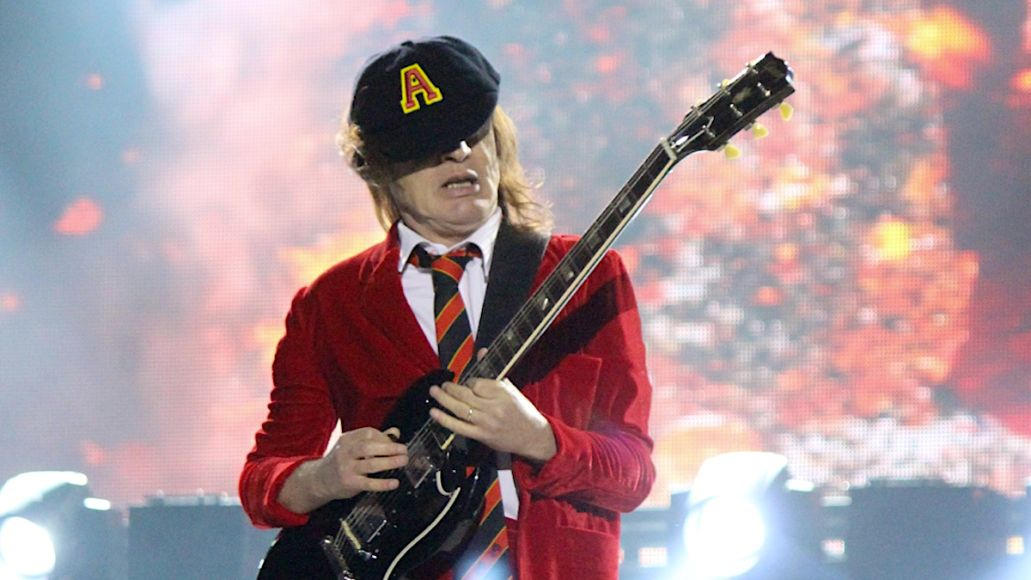 Angus Young AC/DC Highway to Hell toilet