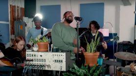 Bartees Strange Tiny Desk Concert NPR Home live stream, photo via YouTube