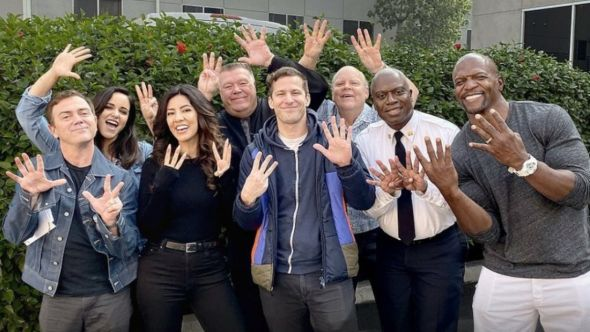 Brooklyn Nine-Nine Season 8 end final season ending last, photo via NBC