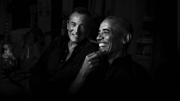 Bruce Springsteen / Barack Obama