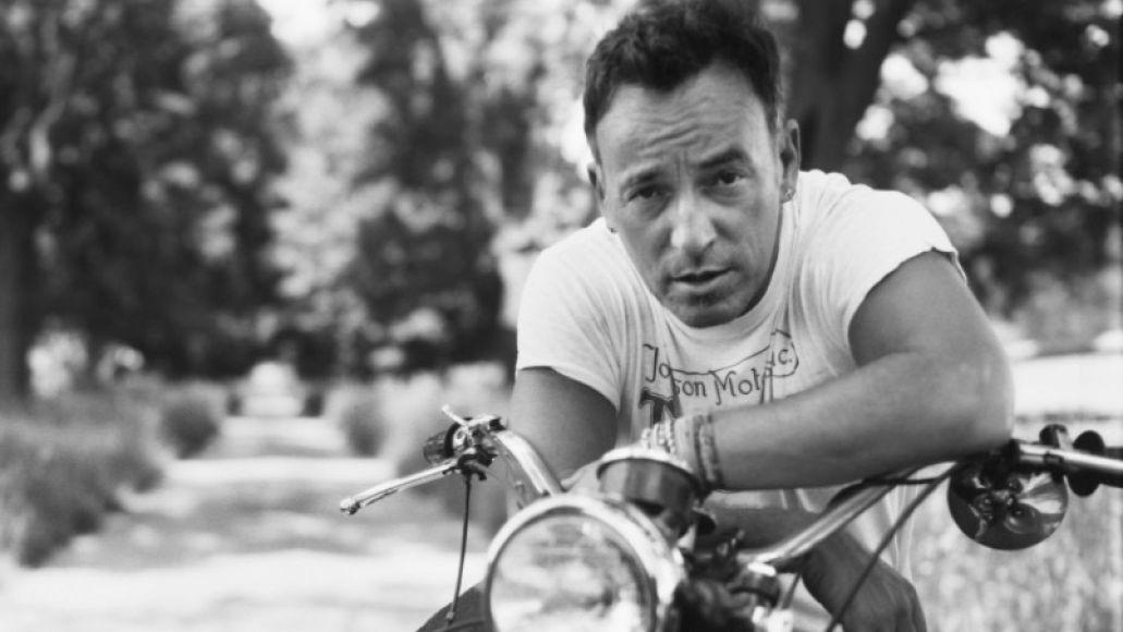 Bruce Springsteen bike