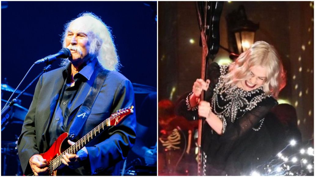 "Phoebe Bridgers Calls David Crosby a ""Little Bitch"" After He Criticizing Her Guitar Smashing Stunt"