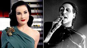 Dita Von Teese on Marilyn Manson