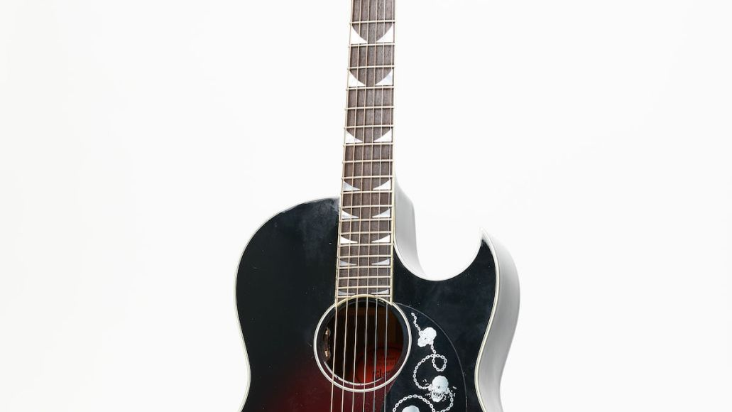 Gibson Acoustic Dave Mustaine CF-100 Blood Burst