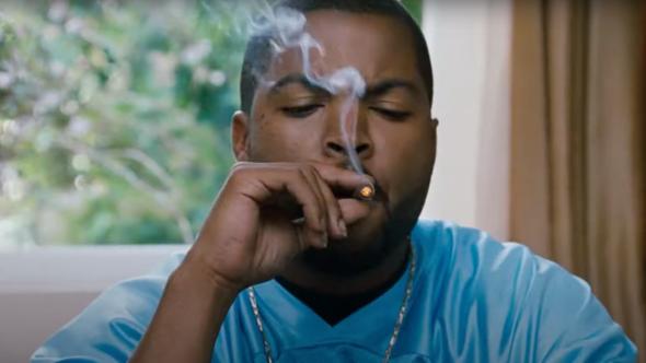 Ice Cube marijuana line Fryday Kush weed company (New Line Cinema)