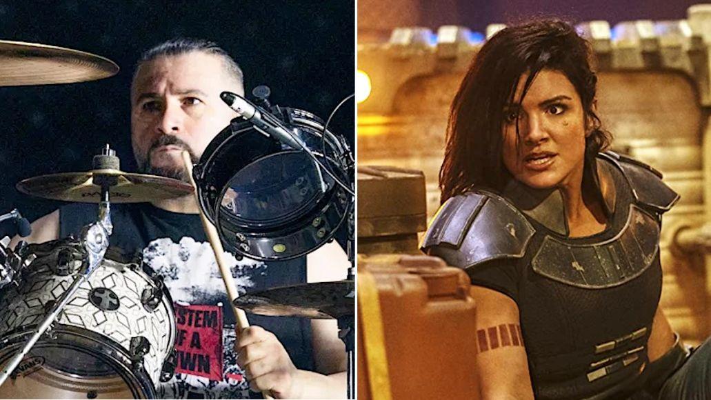 John Dolmayan defends Gina Carano