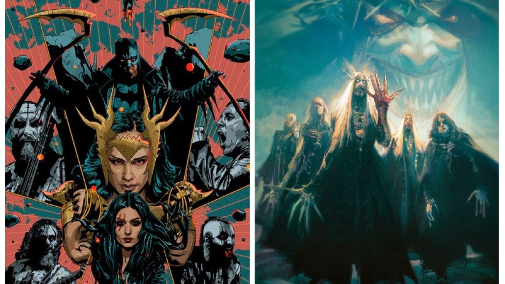 Lacuna Coil and Opeth DC Comics