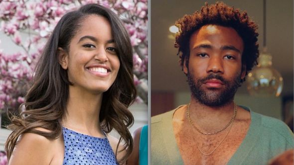 Malia Obama and Donald Glover Amazon deal (photo by Pavielle Garcia)