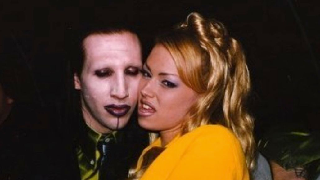 Marilyn Manson and Jenna Jameson