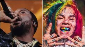 Tekashi 6ix9ine and Meek Mill Get In Heated Confrontation Outside Club