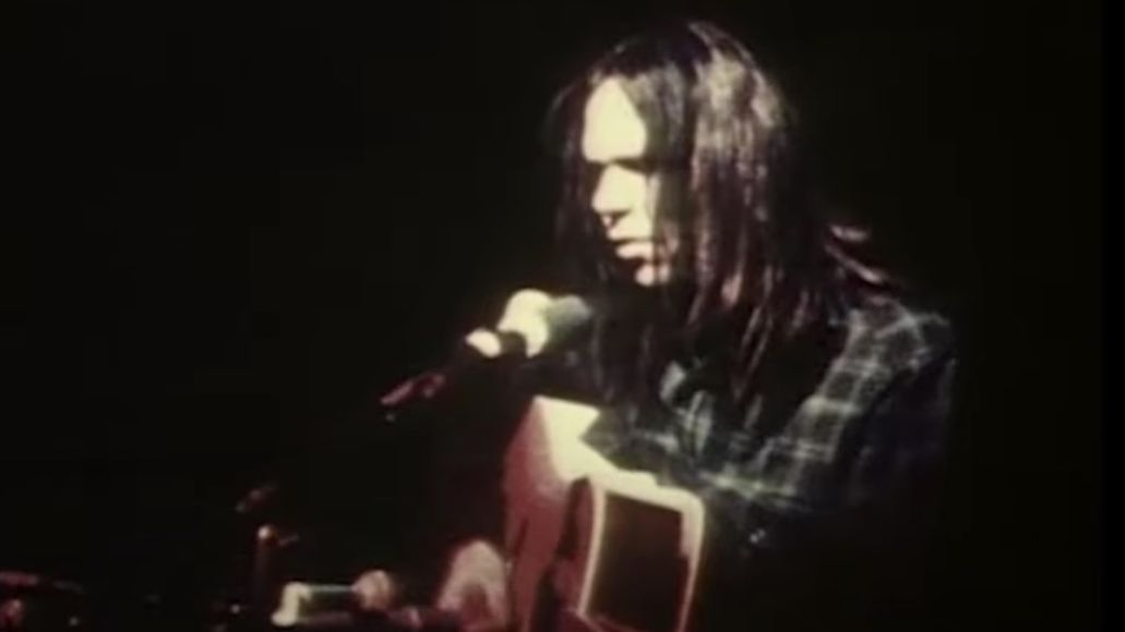 Neil Young in Young Shakespeare