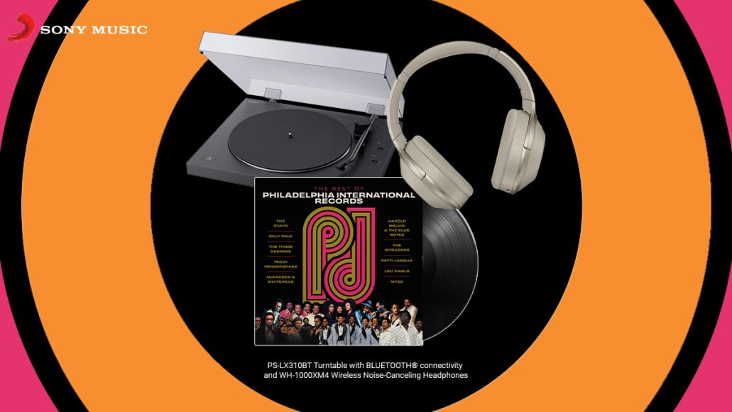 Philly International Records best of vinyl turntable headphones giveaway