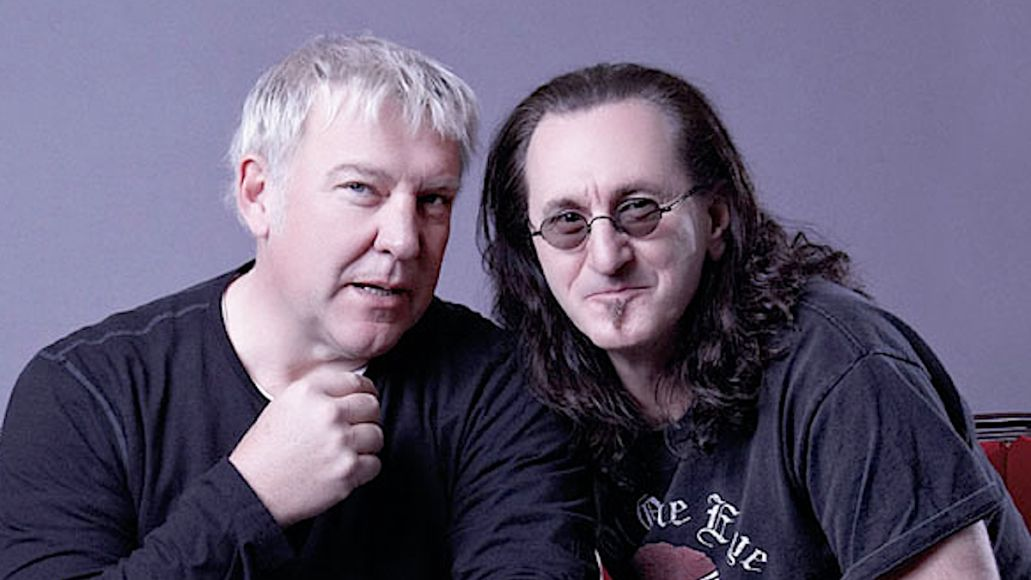 Rush's Alex Lifeson and Geddy Lee