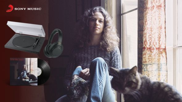 Win a Carole King Tapestry vinyl prize pack with Bluetooth turntable and headphones