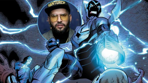 angel manuel soto blue beetle movie director dc comics extended universe
