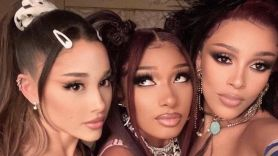 ariana grande megan thee stallion doja cat 34+35 remix music video baked alaska